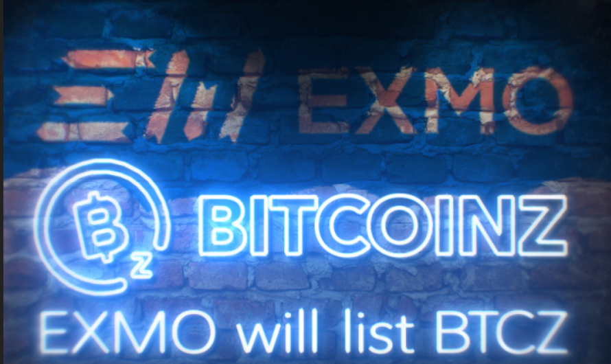 EXMO Cryptocurrency Exchange Announces Support for BitcoinZ (BTCZ)