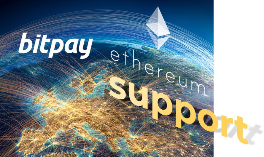 BitPay Launches Ethereum Support in the coming weeks