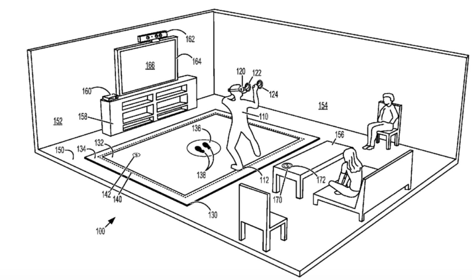 Microsoft patents vibrating carpet for virtual reality
