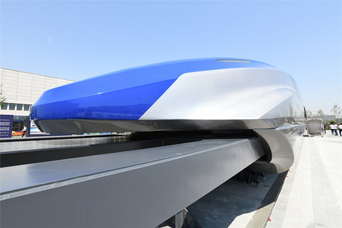 World's first high-temperature superconducting suspension maglev launched