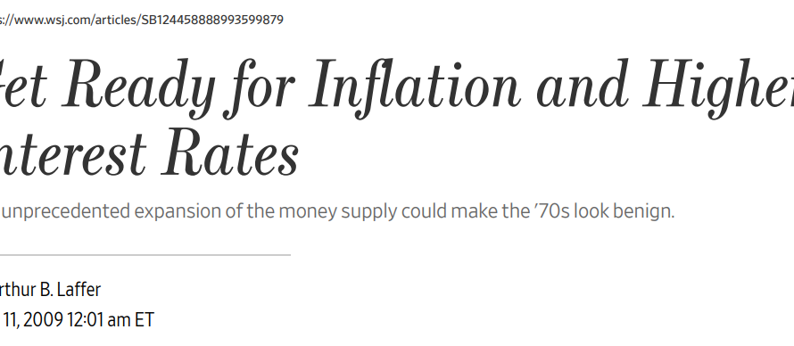 The big myth about money and inflation