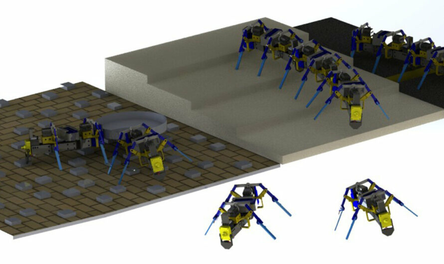 Engineers create swarming four-legged robots that resemble ants